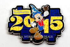 NEW Walt Disney World 2015 Logo Tourist Mickey Mouse Fridge Magnet