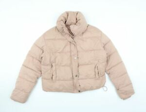 Primark Womens Pink   Puffer Jacket  Size S