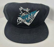 San Jose Sharks Snapback Hat Cap NHL Official Licensed Vintage 1990s NEW w/ Tags
