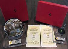 Ferrari F2002 Formula One F1 Piston & Valve Michael Schumacher Memorabilia RARE