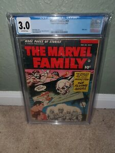 Marvel Family 83 CGC 3.0