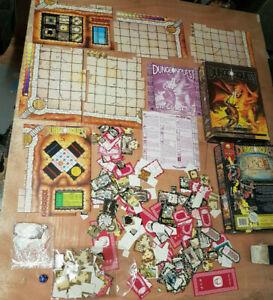 Vintage DUNGEONQUEST Board Game Games Workshop Talisman 1987 + Box DUNGEON QUEST