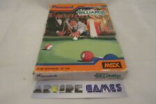 Konami's billiards msx rc706 1984 (sending, followed seller pro)