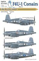 Eagle CAL 1/72 Vought f4u-1 Corsairs #72162
