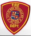 New Rochelle Fire Department, New York Shoulder Patch