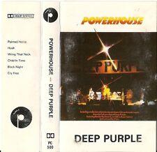 RARE: Deep Purple - Powerhouse (Cassette 1977 IRELAND IMPORT) PC 500