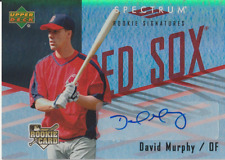David Murphy 2007 UD Spectrum RC rookie auto autograph card 111