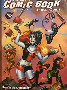 OVERSTREET #46 PRICE GUIDE HARLEY QUINN 2016-17 HARDCOVER NEW & SEALED