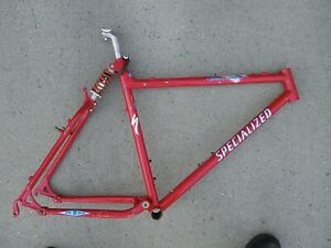RARE 1990s Red Specialized Ground Control Frame Mountain Bike Rear Shock 26 MTB