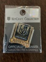 Vegas Golden Knights 2018 Western Conference Champions Pin Rare