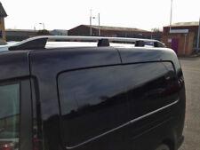 Aluminio Baca BARRAS rieles laterales juego para caber LWB Volkswagen Caddy (2004-15)