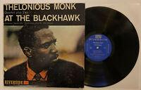 Thelonious Monk - At The Blackhawk - 1960 US 1st Press VG++ Ultrasonic Clean