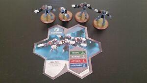 Heroscape Blastatrons -Complete, VGC- Thora's Vengeance