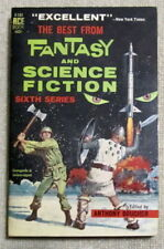 Best Fantasy Science Fiction 6 PB Ace F131 Icarus Montgolfier Wright - Bradbury