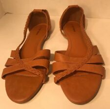 Top Moda Ballet Flat Shoes Brown Size 9 Great Condition