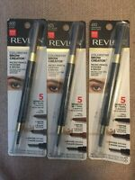 (1) Revlon Colorstay Brow Creator Micro Pencil Powder and Brush, You Choose