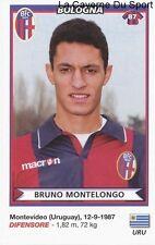 MONTELONGO URUGUAY BOLOGNA.FC RARE UPDATE STICKER CALCIATORI 2011 PANINI
