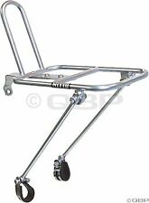 """New NITTO M18 Bicycle Carrier Front Rack Silver for 26''/27"""" Wheels (FRONT-M18)"""