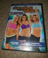 Dancing With the Stars Fat Burning Cardio Dance [Brand New and Sealed DVD]