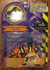 "Vintage Jurassic Park JP 96 Chaos Effect ""Tyrannonops"" T-Rex with Capture Gear"