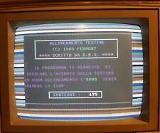 REGOLATORE AZIMUTH - Commodore 64 test 100%  provato C64 cassetta x Datassette