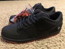 0bc09f70 Mens Nike SB Dunk Low TRD QS Pigeon Jeff Staple Black Sienna 883232-008 Size
