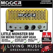 NEW Mooer Little Monster BM 5 Watt Micro Tube Amplifier Head Mini Amp