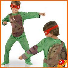 Costume Carnevale Ragazzo Bambino Tartaruga Tartarughe Ninja Tg 7-8 anni