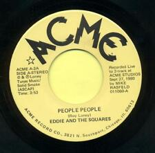 EDDIE & THE SQUARES  People  People / When The Night Calls  <Hear>