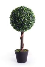 Best Artificial 2ft 60cm Boxwood Topiary Ball Tree for Outdoor Home Garden plant