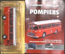 POMPIERS L'AUTOCAR SAVIEMS SC5 DES DEUXS SEVERES N° 95