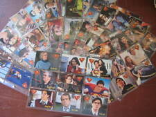 LOIS&CLARK TRADING CARDS-No.1-90-SKY BOX- SET IN 10 PAGES.