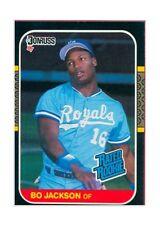 1987 Donruss Bo Jackson Kansas City Royals #35 Baseball Card