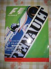 FORMULA 1 - F1 - 1994 MAGNY COURS FRENCH GRAND PRIX PROGRAMME - GENUINE ORIGINAL
