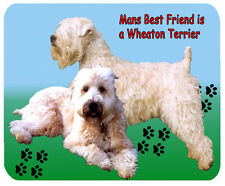 Wheaton Terrier Cane Tappetino mouse-Mans migliore amico