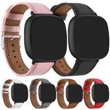 Echtes Leder Ersatzarmband Gürtel Armband Uhrenarmband Für Fitbit Versa 2 / Lite