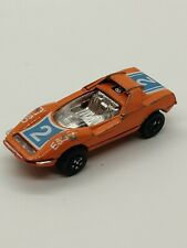 Vintage Playart Fast Wheel Orange Alfa Romeo P33 Esso Racer Hong Kong