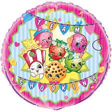 """Team Shopkins 17"""" foil balloon 43.5cm round"""