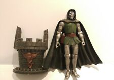 "Marvel Legends Dr. Doom Fantastic Four Action Figure 6"" Toy Biz loose"