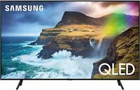 "Samsung 55"" 4K UHD HDR QLED Tizen Smart TV QN55Q70RAFXZC"