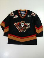 Calgary Hitman Jersey Hockey WHL CHL CCM Reebok team signed signature medium
