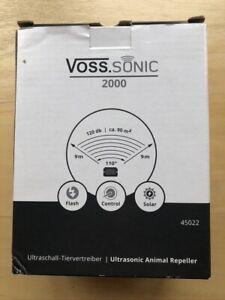 Voss Sonic Ultrasonic animal repeller