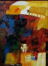 """Oil Painting on Canvas with Frame, """"Abstract"""""""