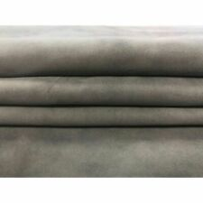 GRAY Suede Genuine sheep leather sheets Real lambskin piece TRADEWINDS 278,1.5oz