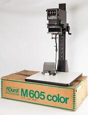 Durst M605 Colour/B&W Enlarger.  Universal Format 35mm to 6x6cm.  Mint, Boxed.