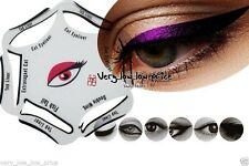 NEW 6 in 1 EYELINER Stencil Set Makeup Guide Quick Eye Liner Shaper Tool Cat