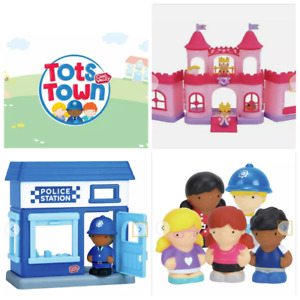 BRAND NEW BOXED CHAD VALLEY TOTS TOWN PRINCESS CASTLE FIGURES POLICE STATION