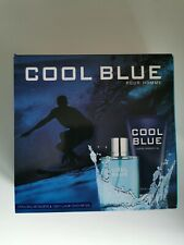 IDEAL GIFT COOL BLUE POUR HOMME 100ML EAU DE TOILETTE & LUXURY SHOWER GEL 130ML