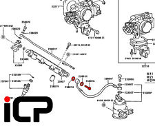 Fuel Rail Banjo Bolt & Washers 90401-12033 Fits: Toyota Starlet Turbo Glanza