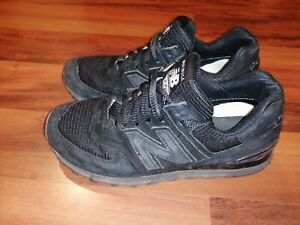 New Balance US574W1 Classic  Mens Athletic Shoes Made in USA Black Size 7.5